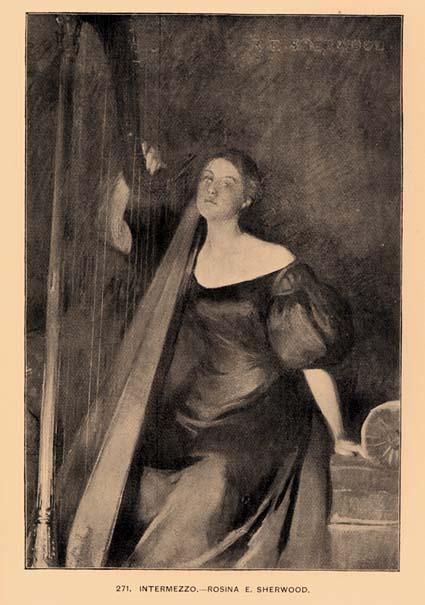 Intermezzo by Rosina E. Sherwood - 1896 catalog image