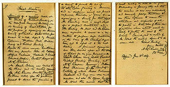 Minutes of first meeting, December 5, 1866
